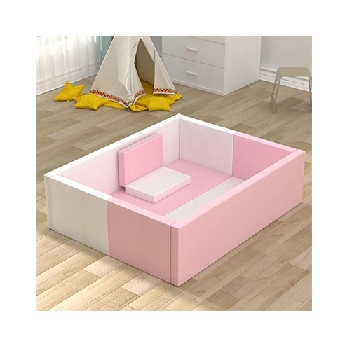 Spatiu pliabil de joaca pentru copii din spuma Nichiduta Soft Play Yard Pink