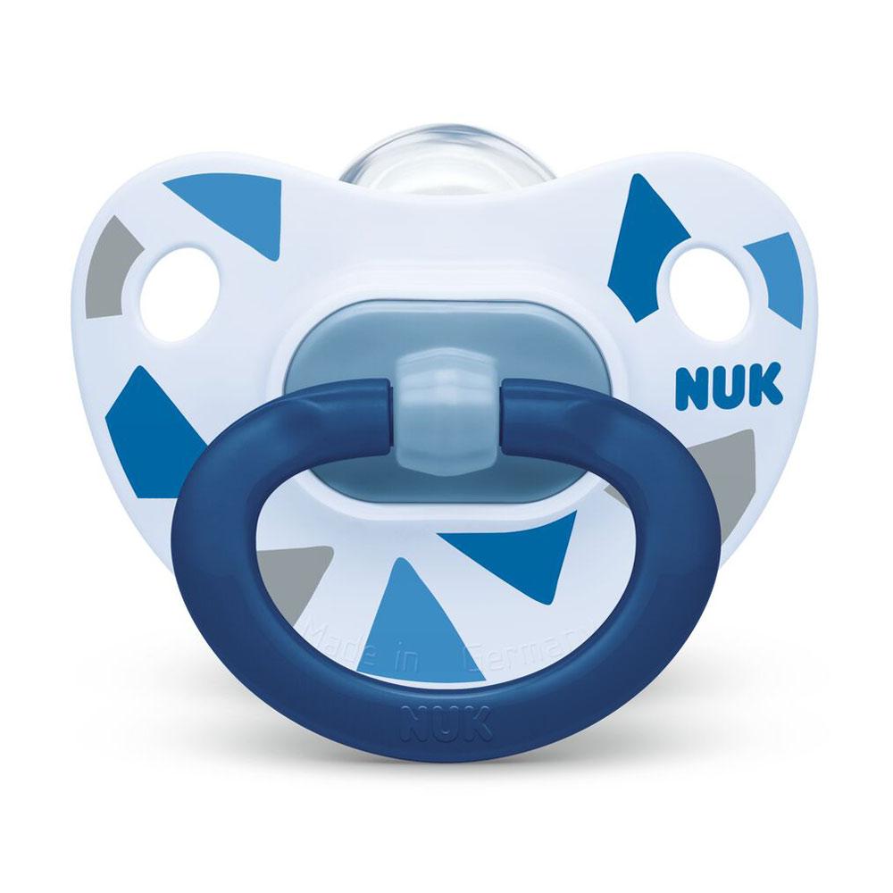 NUK Suzeta Nuk Happy Days Silicon M3 Albastru 18-36 luni