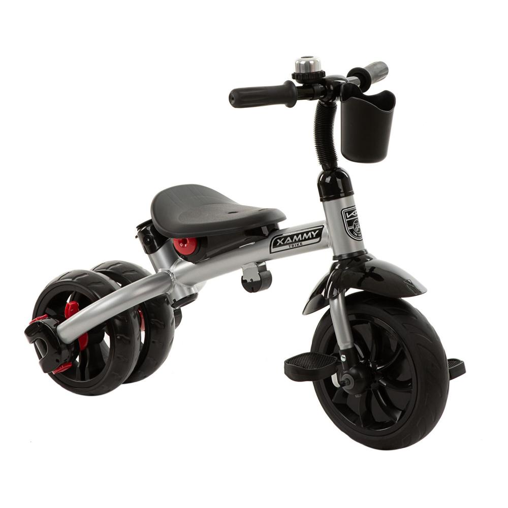 Tricicleta multifunctionala 3 in 1 Xammy Grey 2020