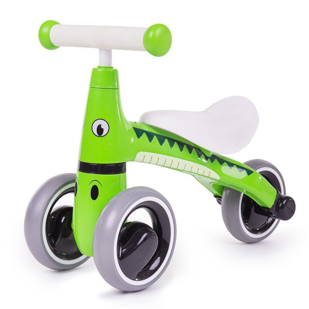 Tricicleta fara pedale Crocodil