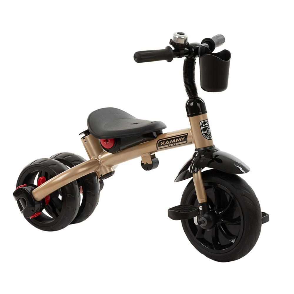 Tricicleta multifunctionala 3 in 1 Xammy Beige 2020 imagine