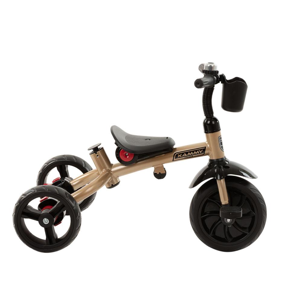 Tricicleta multifunctionala 3 in 1 Xammy Beige 2020