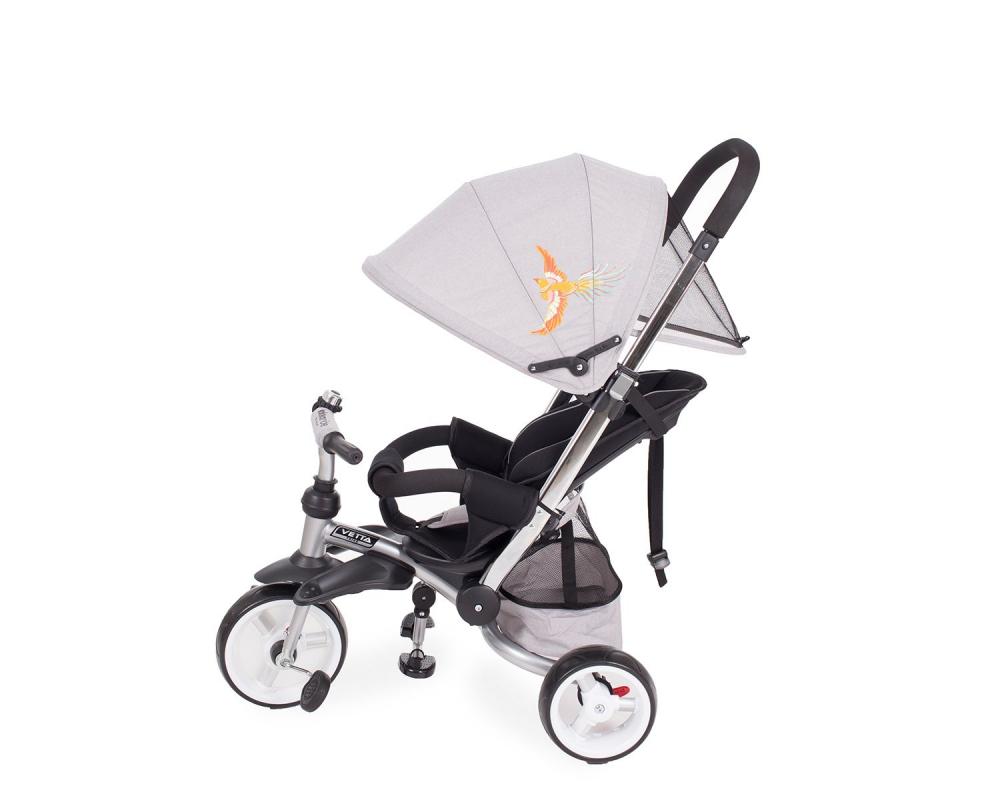 Tricicleta multifunctionala Vetta Grey Melange Phoenix
