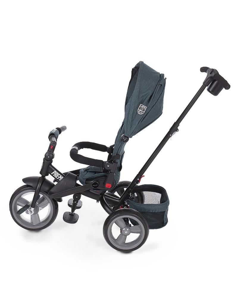 Tricicleta multifunctionala cu roti EVA Premio Green Melange imagine