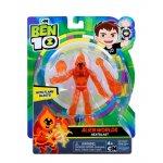 Figurina 12 cm Alien Worlds Heatblast Ben 10