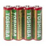 Baterii Toshiba Heavy Duty R6/AA, 4 bucati