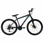 Bicicleta de munte Velors V2710A roata 27.5 frana disc 18 viteze negru/albastru/rosu