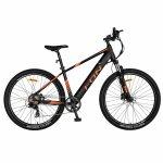Bicicleta electrica I-ON E-Bike 27.5 I1006E cadru aluminiu negru/portocaliu