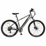 Bicicleta electrica MTB E-Bike Carpat 27.5 C1007E cadru aluminiu gri/negru