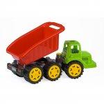 Camion pentru copii Marmat S cabina verde