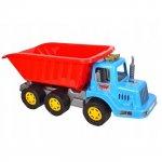 Camion pentru copii Marmat XL cabina albastra