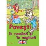Carte Povesti in romana si engleza