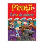 Carte de colorat Piratii
