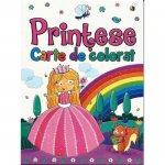 Carte de colorat Printese