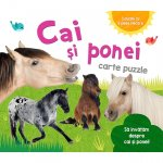 Carte puzzle Cai si Ponei
