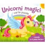 Carte puzzle Unicorni Magici