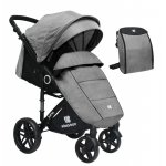 Carucior sport KikkaBoo Juno Light Grey 2020