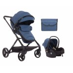 Carucior transformabil 3 in 1 Amulette Dark Blue