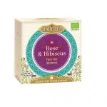 Ceai premium Hari Tea Face the Moment trandafiri si hibiscus bio 10dz
