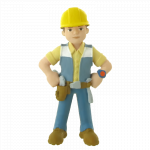 Figurina Comansi Bob the Builder Bob