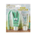Gel igienizant pentru maini Bunny cu suport si rezerva 2 x 29ml Jack N Jill