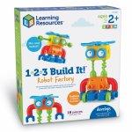 Hai sa construim 1, 2, 3  Robotel colorat