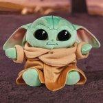 Jucarie plus Simba Disney Mandalorian Baby Joda 25 cm