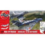 Kit constructie Airfix Avion Mig 17 & Douglas Skyhawk Dogfight Double