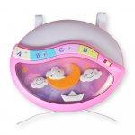 Lampa de veghe cu muzica si proiectii Dinamic dream Pink