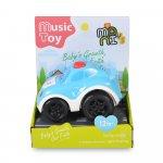 Masinuta cu muzica si lumini Sport Car Blue