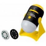 Mini proiector National Geographic cu lumina de veghe si doua role diapozitiv cu 24 imagini cu spatiu