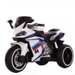 Motocicleta electrica cu lumini LED Legend White