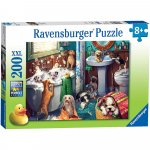 Puzzle catelusi in baie 200 piese