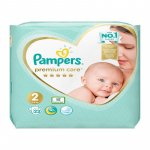 Pampers premium Care nr 2, 4-8 kg 23 buc