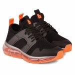Pantofi sport Bibi new bubble grafit orange 33 EU