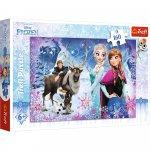 Puzzle Trefl Disney Frozen Aventura iernii 160 piese
