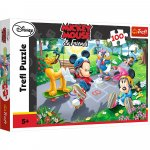 Puzzle Trefl Disney Mickey Mouse Joaca pe role 100 piese
