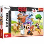Puzzle Trefl Disney Mickey Mouse fermier 160 piese