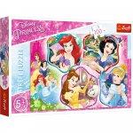 Puzzle Trefl Disney Princess Printesele fermecate 100 piese