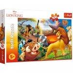 Puzzle Trefl Disney The Lion King Aventurile lui Simba 100 piese