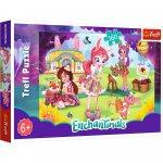 Puzzle Trefl Enchantimals Bree Danessa si Felicy in gradina 160 piese