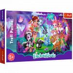 Puzzle Trefl Enchantimals Distractie cu prietenii 100 piese