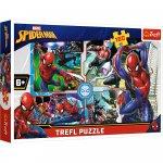 Puzzle Trefl Marvel Spider Man Salvatorul 160 piese