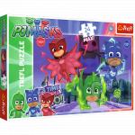 Puzzle Trefl Maxi Eroi in Pijama Eroi Misteriosi 24 piese