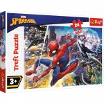 Puzzle Trefl Maxi Marvel Spider Man Curajosul Spider Man 24 piese