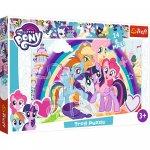 Puzzle Trefl Maxi My Little Pony Poneii veseli 24 piese
