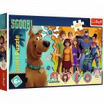Puzzle Trefl Scooby Doo in actiune 160 piese