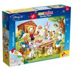 Puzzle de colorat Familia Donald Duck (35 piese)
