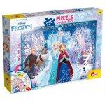 Puzzle de colorat Frozen (250 piese)