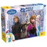 Puzzle de colorat Frozen si prietenii (108 piese)